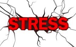 Силно нервно напрежение стрес видове стрес